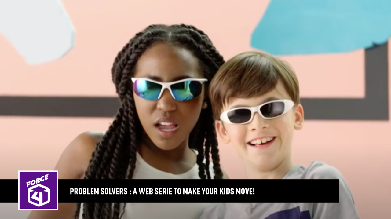 Problem solvers: a web series to make your kids move!