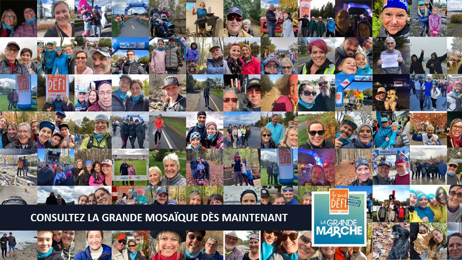 La Grande marche - Consulter La Grande mosaïque